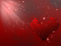 Giorno di biglietti di S. Valentino fotografie stock libere da diritti