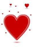 Giorno di biglietti di S. Valentino. Fotografia Stock