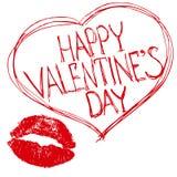 Giorno di biglietti di S. Valentino. Fotografia Stock Libera da Diritti