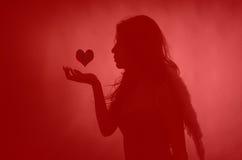 Giorno di biglietti di S. Valentino immagine stock libera da diritti