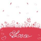Giorno di biglietti di S. Valentino, amore Fotografia Stock Libera da Diritti