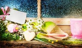 Giorno di biglietti di S. Valentino, compleanno Fotografia Stock Libera da Diritti