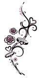 Giorno di biglietti di S. Valentino, cuori, anelli Immagini Stock