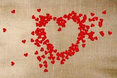 Giorno di biglietti di S. Valentino della cartolina d'auguri Immagine Stock Libera da Diritti