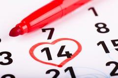 Giorno di biglietti di S. Valentino della st Immagini Stock Libere da Diritti
