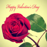 Giorno di biglietti di S. Valentino felice immagine stock libera da diritti