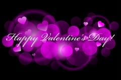 Giorno di biglietti di S. Valentino felice illustrazione vettoriale