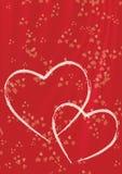 Giorno di biglietti di S. Valentino felice Fotografie Stock