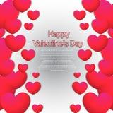 Giorno di biglietti di S. Valentino felice 2014 Immagini Stock