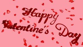 Giorno di biglietti di S. Valentino felice archivi video