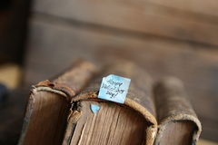 Giorno di biglietti di S. Valentino felice - stile d'annata Fotografie Stock Libere da Diritti