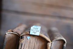 Giorno di biglietti di S. Valentino felice - stile d'annata Fotografia Stock Libera da Diritti