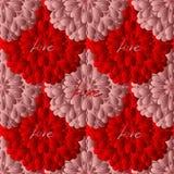 Giorno di biglietti di S. Valentino felice, carta di vettore illustrazione vettoriale