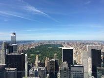 Giorno di Central Park Immagini Stock