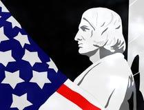 Giorno di Columbus - illustrazione 3D Fotografie Stock Libere da Diritti