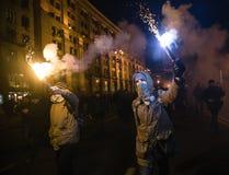 Giorno di dignità e di libertà in Ucraina Immagine Stock