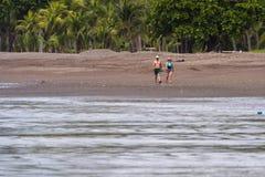 Giorno di distensione alla spiaggia Immagini Stock Libere da Diritti