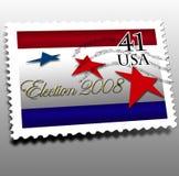 Giorno di elezione 2008 Immagini Stock Libere da Diritti