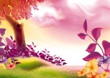 Giorno di estate royalty illustrazione gratis