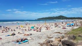 Giorno di estate alla spiaggia Fotografie Stock