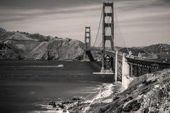 Giorno di estate di San Francisco Bay Golden Gate Bridge immagini stock