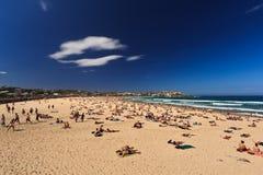 Giorno di estate su una spiaggia Fotografia Stock Libera da Diritti