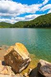 Giorno di estate sul lago Fotografie Stock