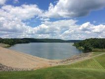 Giorno di estate a Whitney Point Reservoir Fotografia Stock Libera da Diritti
