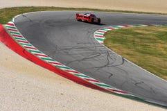Giorno di Ferrari Ferrari FXX 2015 al circuito di Mugello Immagini Stock