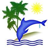 Giorno di festa del delfino Immagine Stock Libera da Diritti