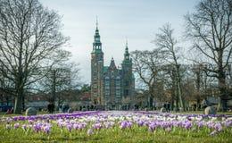Giorno di Firtst della molla a Copenhaghen Immagine Stock Libera da Diritti
