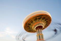 Giorno di giro del parco di divertimenti Fotografia Stock