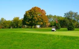 Giorno di golf Immagine Stock