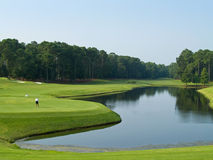 Giorno di golf Immagine Stock Libera da Diritti