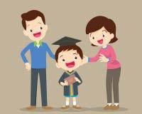 Giorno di graduazione felice royalty illustrazione gratis