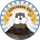 Giorno di Groundhog Fotografie Stock Libere da Diritti