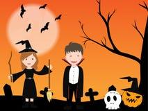 Giorno di Halloween Fotografie Stock Libere da Diritti