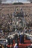 Giorno di inaugurazione del Bill Clinton Fotografia Stock Libera da Diritti