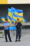 Giorno di indipendenza dell'Ucraina Fotografia Stock Libera da Diritti