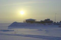 Giorno di inverno freddo Fotografie Stock Libere da Diritti