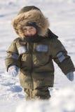 Giorno di inverno nel lago congelato (09) Immagini Stock