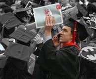 Giorno di laurea Fotografie Stock