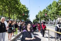 Giorno di laurea di Rmit Immagine Stock Libera da Diritti