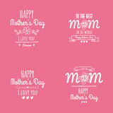 Giorno di madre felice Immagine Stock Libera da Diritti