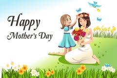 Giorno di madri Immagini Stock Libere da Diritti