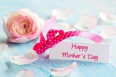 Giorno di madri felice Fotografie Stock Libere da Diritti