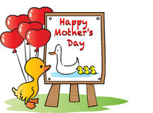 Giorno di madri felice Fotografia Stock