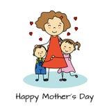 Giorno di madri felice Immagine Stock