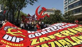 Giorno di maggio a Costantinopoli Fotografia Stock Libera da Diritti