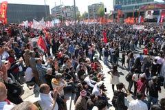 Giorno di maggio in Turchia Immagini Stock Libere da Diritti